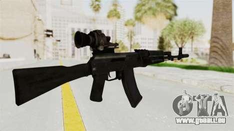 AK-74M v4 pour GTA San Andreas deuxième écran