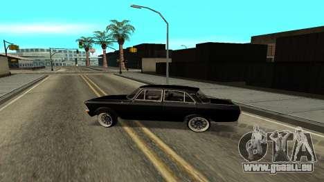 Moskwitsch 412 für GTA San Andreas linke Ansicht