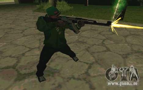AK-47 Vulcan (SA) pour GTA San Andreas sixième écran