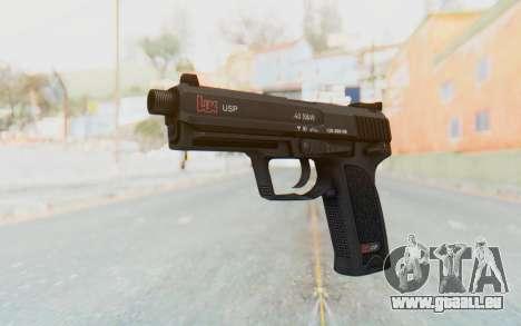 H&K 45 pour GTA San Andreas