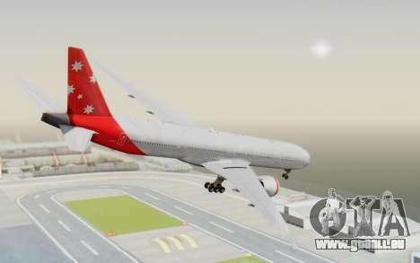 Boeing 777-300ER Virgin Australia v1 HD pour GTA San Andreas laissé vue