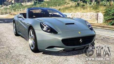 Ferrari California Autovista für GTA 5