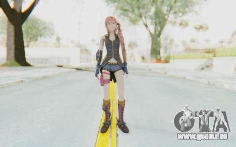 Final Fantasy XIII-2 - Serah Style and Steel pour GTA San Andreas deuxième écran