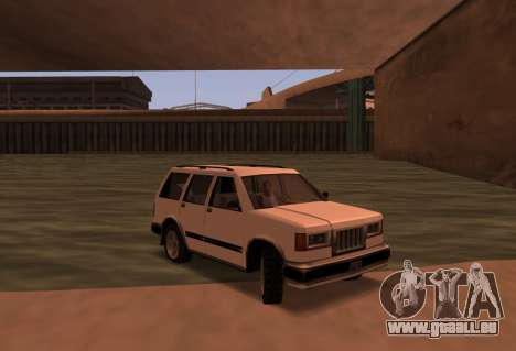 Landstalker SRT8 für GTA San Andreas zurück linke Ansicht