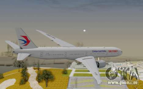 Boeing 777-300ER China Eastern Airlines pour GTA San Andreas vue de droite