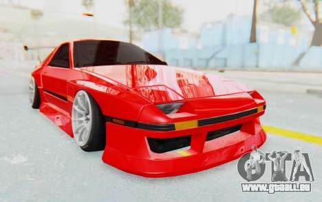 Mazda RX-7 FC3S BN Sport pour GTA San Andreas vue arrière