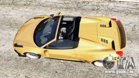 GTA 5 Ferrari 458 Spider [Liberty Walk] Rückansicht