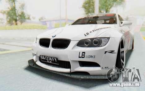 BMW M3 E92 Liberty Walk LB Performance pour GTA San Andreas