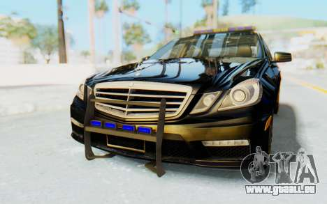 Mercedes-Benz E63 German Police Blue pour GTA San Andreas
