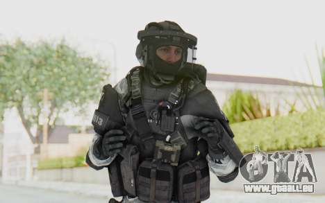 Federation Elite LMG Arctic für GTA San Andreas
