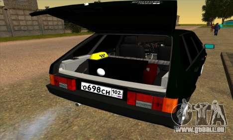 2109 v1.0 pour GTA San Andreas sur la vue arrière gauche