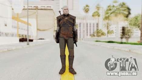 The Witcher 3: Wild Hunt - Geralt of Rivia pour GTA San Andreas deuxième écran