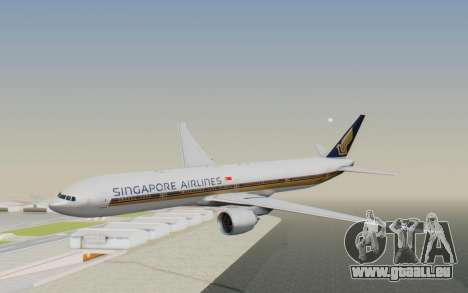 Boeing 777-300ER Singapore Airlines v1 pour GTA San Andreas