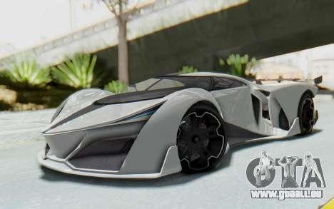 GTA 5 Grotti Prototipo v2 pour GTA San Andreas