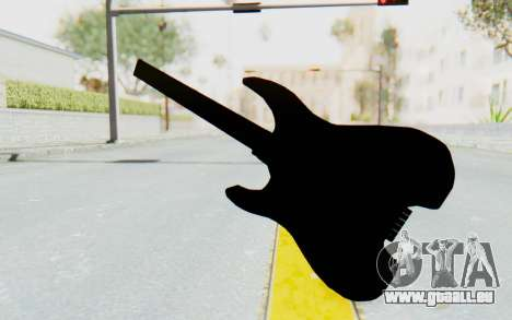 Steinberger GM1T White Pickguard für GTA San Andreas dritten Screenshot