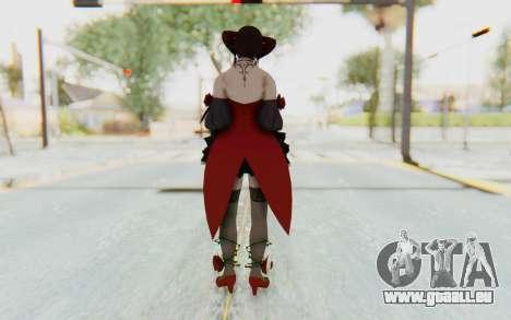 Eliza Skin pour GTA San Andreas troisième écran