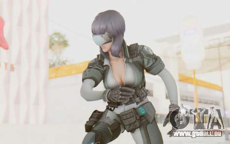 Ghost In The Shell First Assautl Motoko v1 pour GTA San Andreas