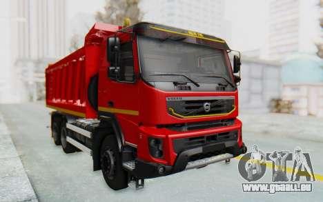 Volvo FMX 6x4 Dumper v1.0 für GTA San Andreas