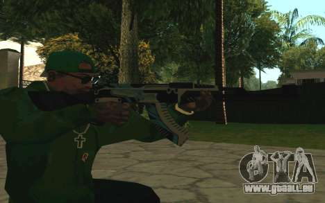 AK-47 Vulcan (SA) pour GTA San Andreas quatrième écran