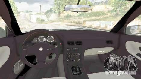 GTA 5 Nissan 180SX Type-X v0.5 droite vue latérale