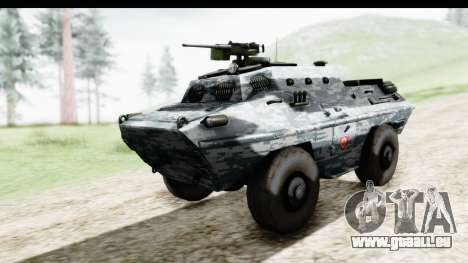 BOV 86M Žandarmerija pour GTA San Andreas