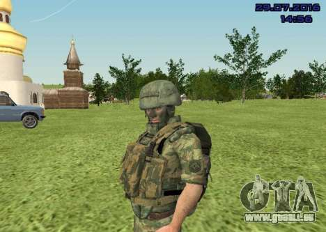 Marine-Corps-Kämpfer für GTA San Andreas her Screenshot