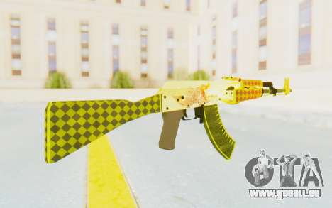 CS:GO - AK-47 Dragon Lore für GTA San Andreas zweiten Screenshot