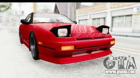 Nissan 240SX 1989 v1 pour GTA San Andreas vue de droite