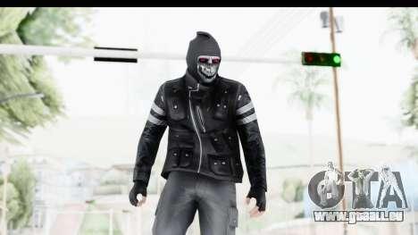 GTA Online Skin (Heists) pour GTA San Andreas