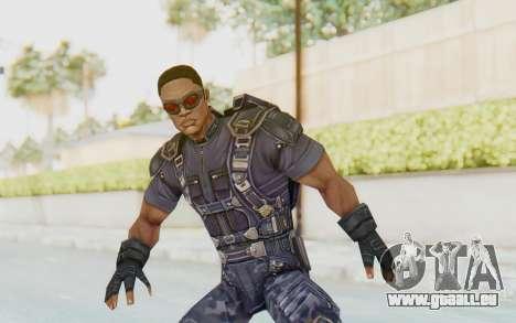 Marvel Future Fight - Falcon für GTA San Andreas
