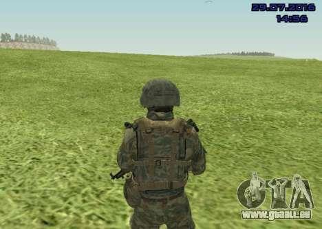 Marine-Corps-Kämpfer für GTA San Andreas zweiten Screenshot