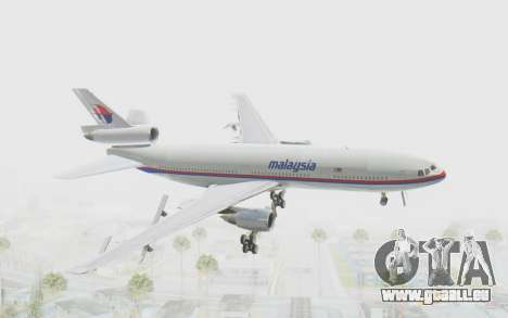 DC-10-30 Malaysia Airlines (Old Livery) für GTA San Andreas