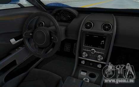 GTA 5 Vapid FMJ für GTA San Andreas Innenansicht