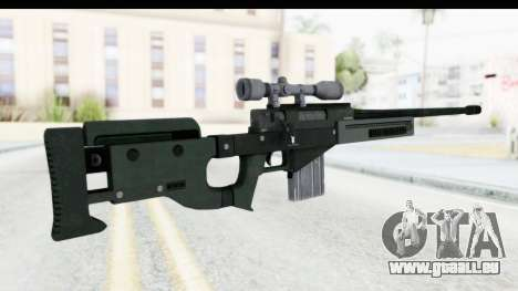 GTA 5 Shrewsbury Sniper Rifle für GTA San Andreas zweiten Screenshot