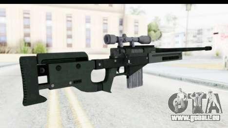 GTA 5 Shrewsbury Sniper Rifle pour GTA San Andreas deuxième écran