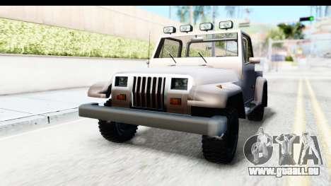 Mesa MAXimum 4x4 pour GTA San Andreas vue de droite