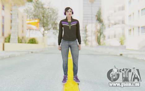 GTA Online Skin Female pour GTA San Andreas deuxième écran