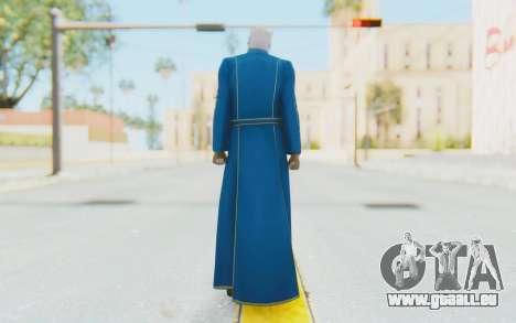 Ultimate Marvel Vs Capcom 3 Vergil pour GTA San Andreas troisième écran