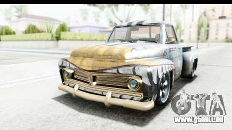 GTA 5 Vapid Slamvan without Hydro für GTA San Andreas Motor