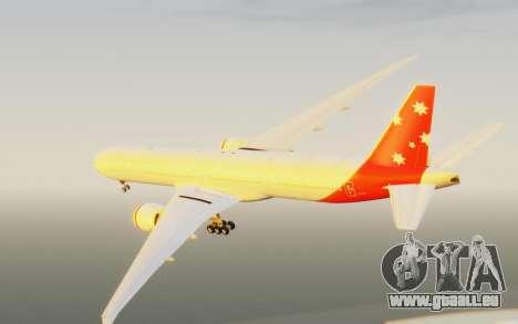 Boeing 777-300ER Virgin Australia v1 HD pour GTA San Andreas vue de droite