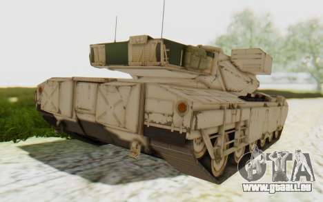 MGSV Phantom Pain M84A MAGLOADER pour GTA San Andreas laissé vue