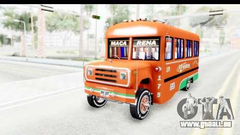 Dodge D600 v2 Bus pour GTA San Andreas