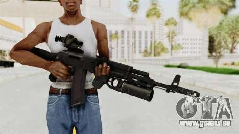 AK-74M v3 für GTA San Andreas dritten Screenshot