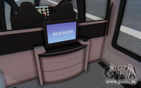 GTA 5 Buckingham Volatus v1 IVF für GTA San Andreas Rückansicht