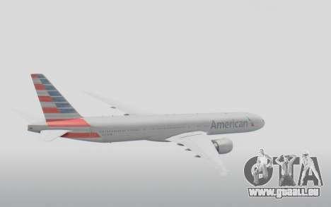 Boeing 777-300ER American Airlines N727AN für GTA San Andreas rechten Ansicht