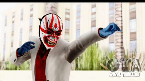 Payday 2 - Jiro with Mask pour GTA San Andreas