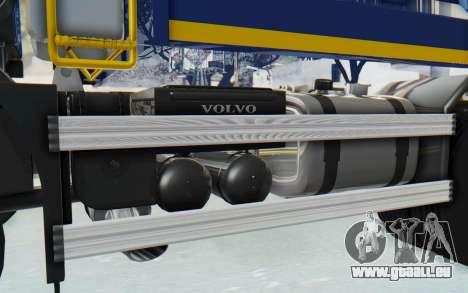 Volvo FMX 6x4 Dumper v1.0 Color pour GTA San Andreas vue intérieure