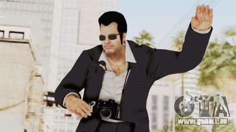 Dead Rising 2 Off The Record Frank West Glasses für GTA San Andreas