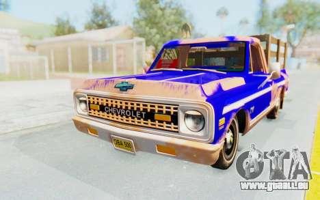 Chevrolet C10 1970 pour GTA San Andreas