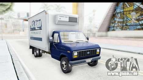 Ford E-350 Cube Truck IVF pour GTA San Andreas